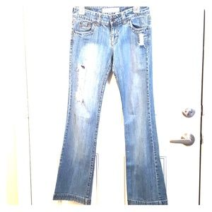 O'NEILL 5/6L Distressed Ripped Low Rise